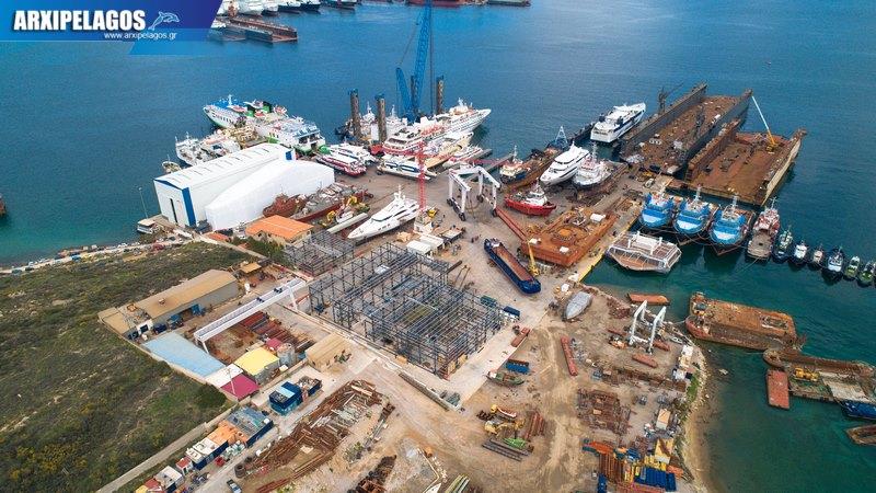 πληρότητας σημειώθηκε στα Ναυπηγεία Σπανόπουλος στη Σαλαμίνα 2, Αρχιπέλαγος, Ναυτιλιακή πύλη ενημέρωσης