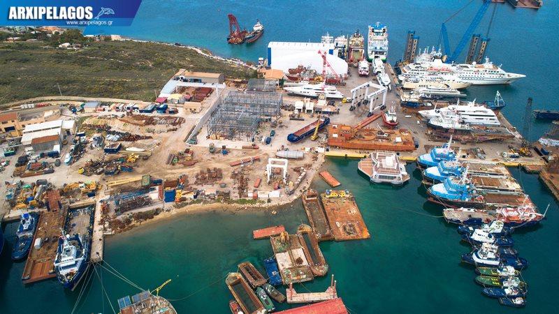 πληρότητας σημειώθηκε στα Ναυπηγεία Σπανόπουλος στη Σαλαμίνα 3, Αρχιπέλαγος, Ναυτιλιακή πύλη ενημέρωσης