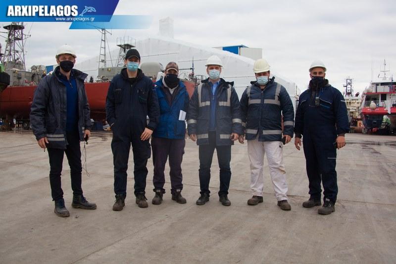 πληρότητας σημειώθηκε στα Ναυπηγεία Σπανόπουλος στη Σαλαμίνα, Αρχιπέλαγος, Ναυτιλιακή πύλη ενημέρωσης