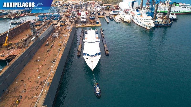 Σπανόπουλου το Speedrunner για δεξαμενισμό Drone Video 3, Αρχιπέλαγος, Ναυτιλιακή πύλη ενημέρωσης