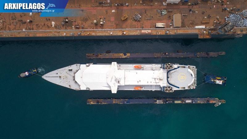 Σπανόπουλου το Speedrunner για δεξαμενισμό Drone Video 5, Αρχιπέλαγος, Ναυτιλιακή πύλη ενημέρωσης