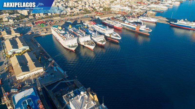 Asterion II επιστρέφει στη γραμμή του Βίντεο 4K αεροφωτογραφίες 13, Αρχιπέλαγος, Ναυτιλιακή πύλη ενημέρωσης