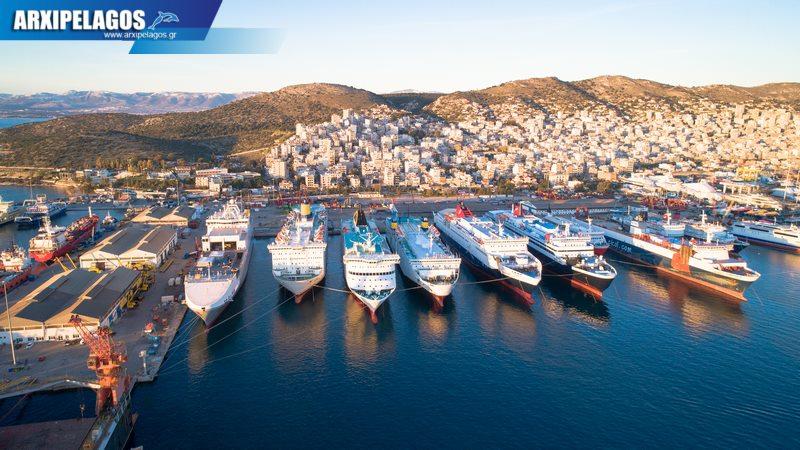 Hellenic Spirit στο Πέραμα μετά το δεξαμενισμό Σημερινές photos 2, Αρχιπέλαγος, Ναυτιλιακή πύλη ενημέρωσης