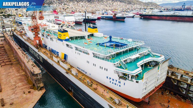 δεξαμενισμό το Κρήτη Ι Drone photos 2, Αρχιπέλαγος, Ναυτιλιακή πύλη ενημέρωσης