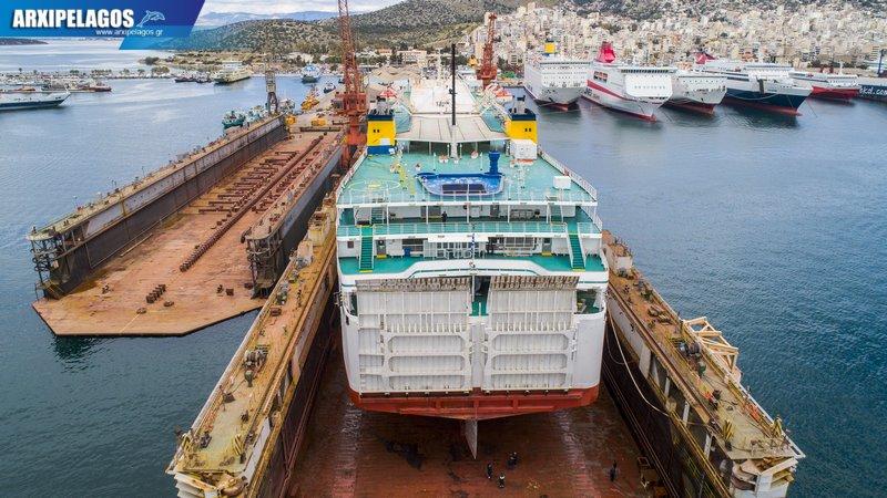 δεξαμενισμό το Κρήτη Ι Drone photos 3, Αρχιπέλαγος, Ναυτιλιακή πύλη ενημέρωσης