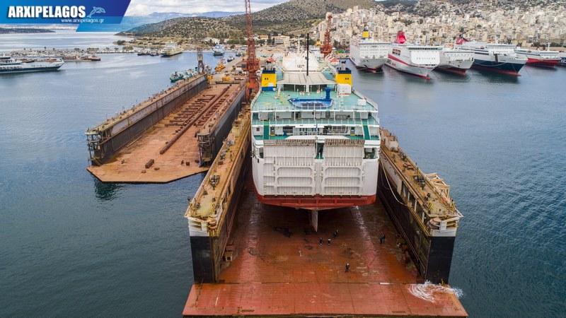 δεξαμενισμό το Κρήτη Ι Drone photos 4, Αρχιπέλαγος, Ναυτιλιακή πύλη ενημέρωσης