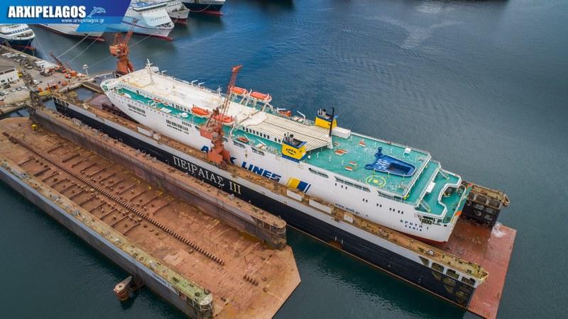 δεξαμενισμό το Κρήτη Ι Drone photos 9, Αρχιπέλαγος, Ναυτιλιακή πύλη ενημέρωσης