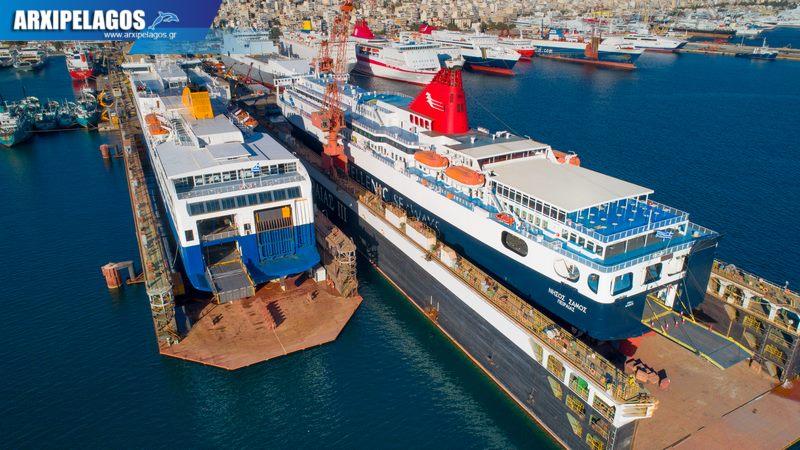 δεξαμενισμό το Blue Star 1 Νήσος Σάμος Σημερινές αεροφωτογραφίες 11, Αρχιπέλαγος, Ναυτιλιακή πύλη ενημέρωσης