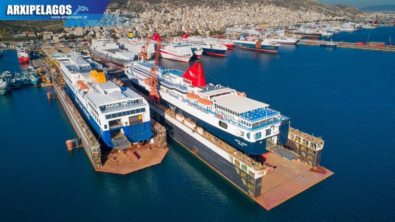 δεξαμενισμό το Blue Star 1 Νήσος Σάμος Σημερινές αεροφωτογραφίες 13, Αρχιπέλαγος, Ναυτιλιακή πύλη ενημέρωσης