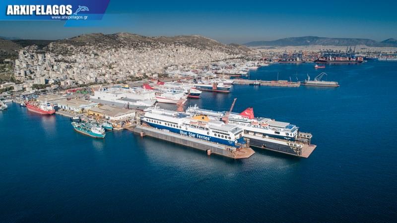 δεξαμενισμό το Blue Star 1 Νήσος Σάμος Σημερινές αεροφωτογραφίες 14, Αρχιπέλαγος, Ναυτιλιακή πύλη ενημέρωσης