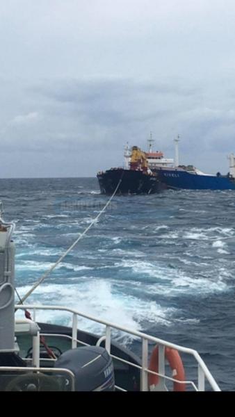 φωτογραφίες από τη σύγκρουση των φορτηγών πλοίων 4, Αρχιπέλαγος, Ναυτιλιακή πύλη ενημέρωσης