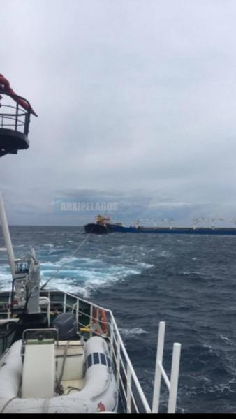 φωτογραφίες από τη σύγκρουση των φορτηγών πλοίων 6, Αρχιπέλαγος, Ναυτιλιακή πύλη ενημέρωσης