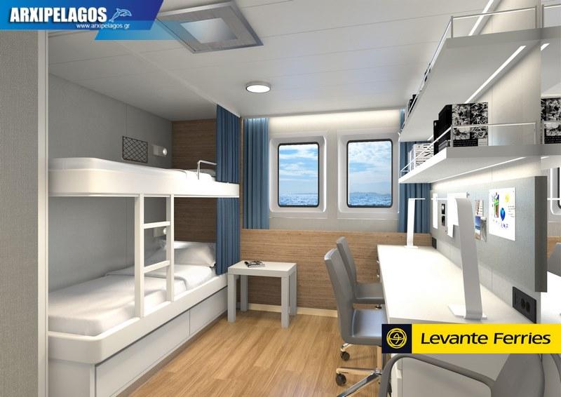 Πως θα είναι μέσα το νέο πλοίο της Levante Photos 3, Αρχιπέλαγος, Ναυτιλιακή πύλη ενημέρωσης