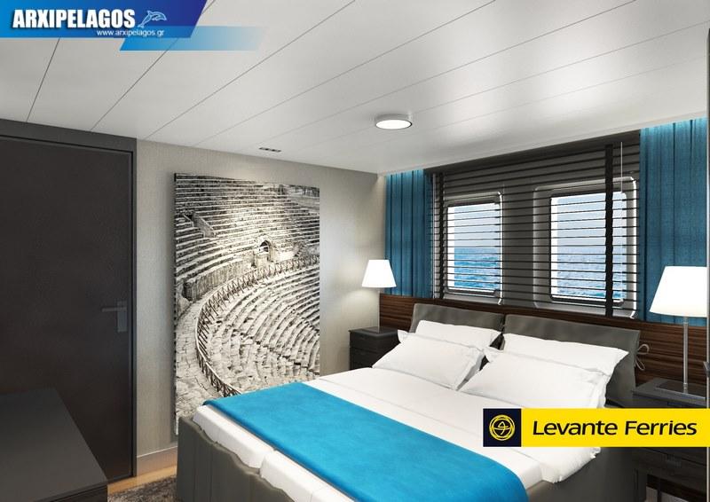 Πως θα είναι μέσα το νέο πλοίο της Levante Photos 5, Αρχιπέλαγος, Ναυτιλιακή πύλη ενημέρωσης