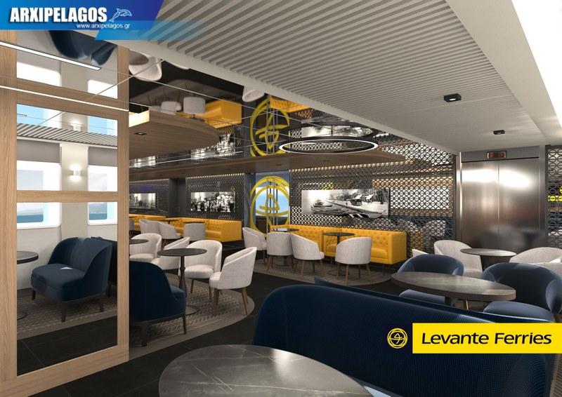 Πως θα είναι μέσα το νέο πλοίο της Levante Photos 8, Αρχιπέλαγος, Ναυτιλιακή πύλη ενημέρωσης