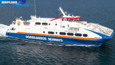 Dodekanisos Pride έπεσε στο νερό Drone Video 1, Αρχιπέλαγος, Ναυτιλιακή πύλη ενημέρωσης