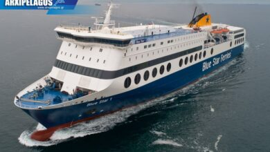 Blue Star 1 Ναύλωση στην Irish Ferries 1, Αρχιπέλαγος, Ναυτιλιακή πύλη ενημέρωσης