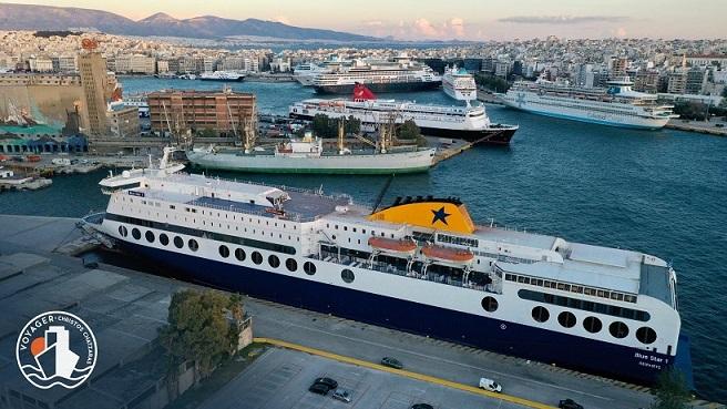 Blue Star 1 Προετοιμάζεται για την Βόρεια Ευρώπη 1, Αρχιπέλαγος, Ναυτιλιακή πύλη ενημέρωσης