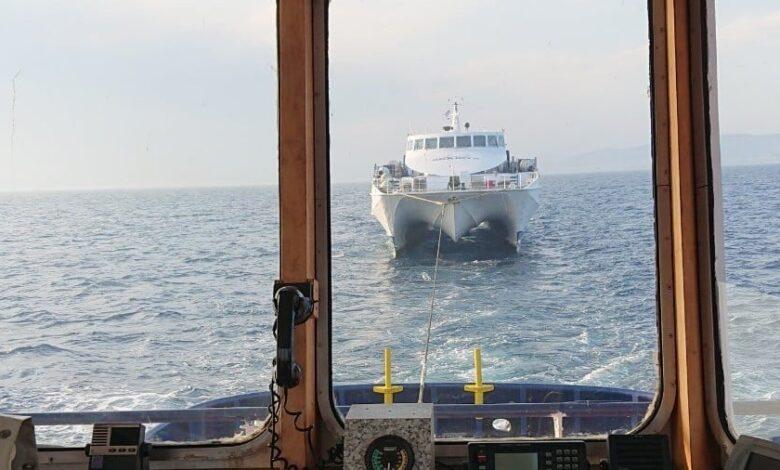 δεξαμενισμό στην Αυλίδα το Sifnos Jet 3, Αρχιπέλαγος, Ναυτιλιακή πύλη ενημέρωσης