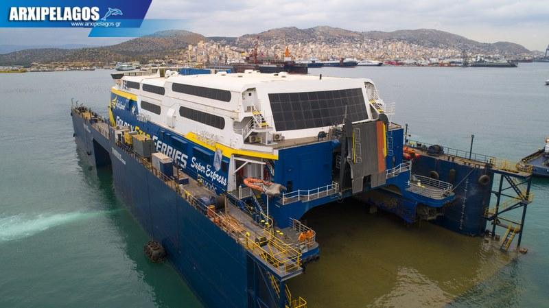 δεξαμενισμό στου Σπανόπουλου το Super express Drone Photos 6, Αρχιπέλαγος, Ναυτιλιακή πύλη ενημέρωσης