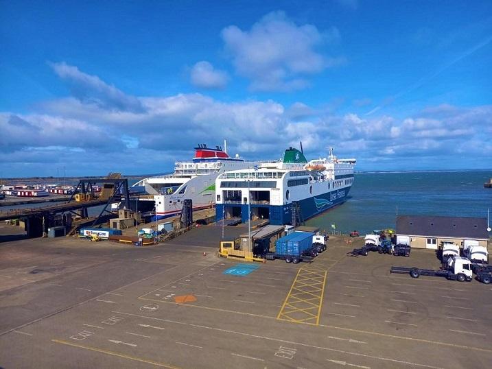 Blue Star 1 έφτασε στην ιρλανδία 1, Αρχιπέλαγος, Ναυτιλιακή πύλη ενημέρωσης