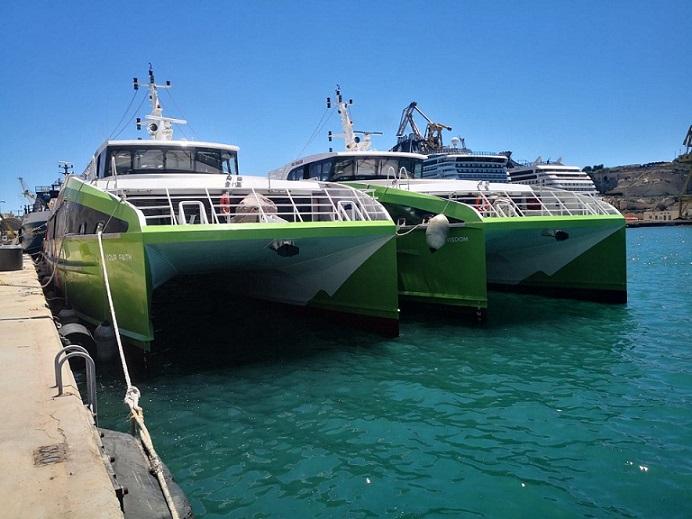 στη Μάλτα τα υπερσύγχρονα ταχύπλοα της Gozo Fast Ferry 1, Αρχιπέλαγος, Ναυτιλιακή πύλη ενημέρωσης