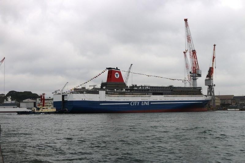 το νεότευκτο Ferry Kyoto της Meimon Taiyo Ferry 2, Αρχιπέλαγος, Ναυτιλιακή πύλη ενημέρωσης