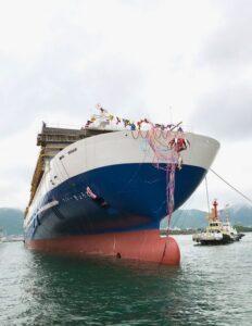 το νεότευκτο Ferry Kyoto της Meimon Taiyo Ferry 3, Αρχιπέλαγος, Ναυτιλιακή πύλη ενημέρωσης