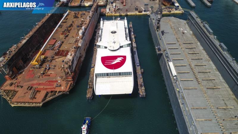 ναυπηγεία Σπανόπουλου το Highspeed Εντυπωσιακό βίντεο 5, Αρχιπέλαγος, Ναυτιλιακή πύλη ενημέρωσης