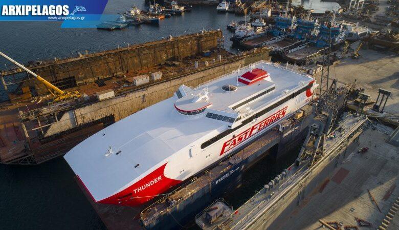 Thunder Συνεχίζεται ο δεξαμενισμός στου Σπανόπουλου Drone Photos 1, Αρχιπέλαγος, Ναυτιλιακή πύλη ενημέρωσης