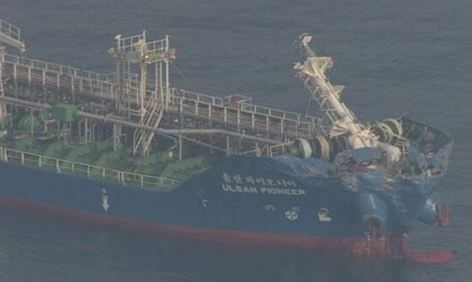 roro Byakko Βυθίστηκε μετά από σύγκρουση με Chemical Tanker 1, Αρχιπέλαγος, Ναυτιλιακή πύλη ενημέρωσης