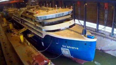 το SH Minerva της Swan Hellenic, Αρχιπέλαγος, Ναυτιλιακή πύλη ενημέρωσης