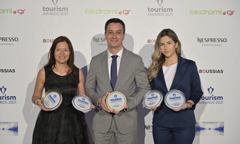 Γραμμές 2 χρυσά και 3 ασημένια βραβεία στα Tourism Awards 2021, Αρχιπέλαγος, Ναυτιλιακή πύλη ενημέρωσης