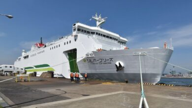 Island Breeze Παραδόθηκε το νεότευκτο της Tsugaru Kaikyo Ferry, Αρχιπέλαγος, Ναυτιλιακή πύλη ενημέρωσης