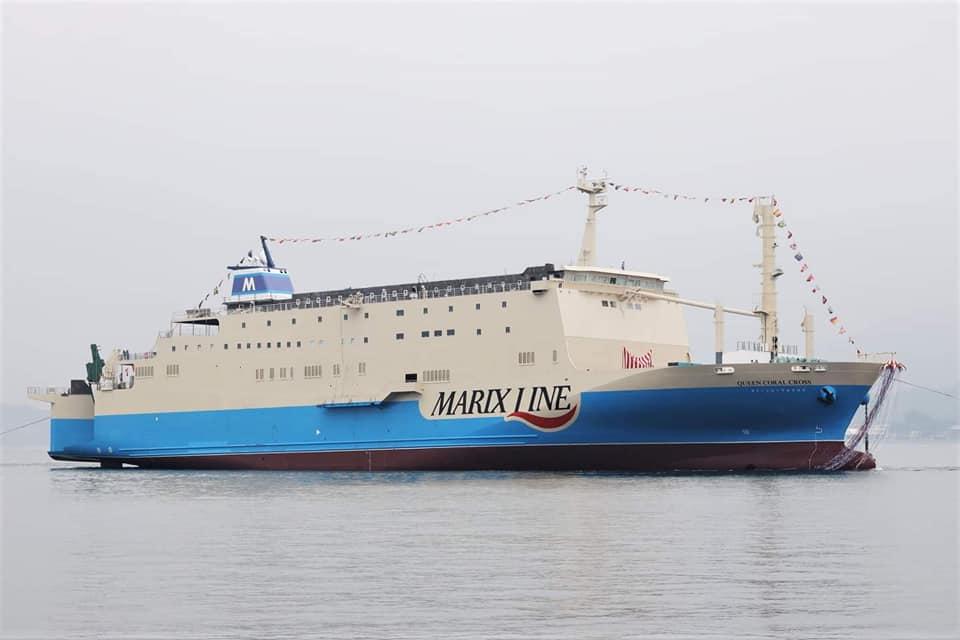 Queen Coral Cross Καθελκύστηκε το νεότευκτο της Marix Line 2, Αρχιπέλαγος, Ναυτιλιακή πύλη ενημέρωσης