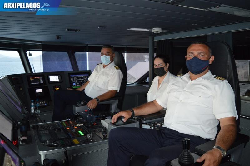 HSC THUNDER Ένα βέλος στο σωστό στόχο Αφιέρωμα στο ταχύπλοο 57, Αρχιπέλαγος, Ναυτιλιακή πύλη ενημέρωσης