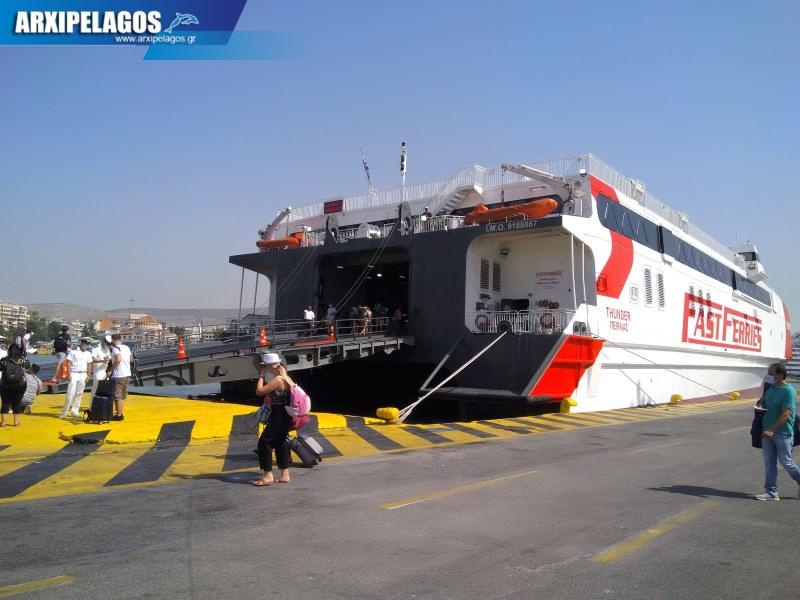 HSC THUNDER Ένα βέλος στο σωστό στόχο Αφιέρωμα στο ταχύπλοο 81, Αρχιπέλαγος, Ναυτιλιακή πύλη ενημέρωσης