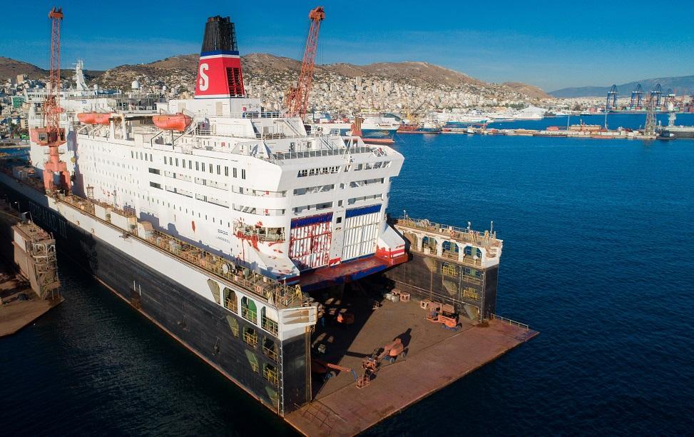 Saga Δεξαμενισμός και επισκευές στο Πέραμα 1, Αρχιπέλαγος, Ναυτιλιακή πύλη ενημέρωσης