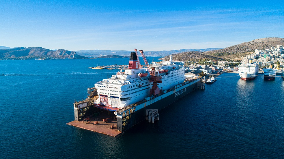 Saga Δεξαμενισμός και επισκευές στο Πέραμα 3, Αρχιπέλαγος, Ναυτιλιακή πύλη ενημέρωσης