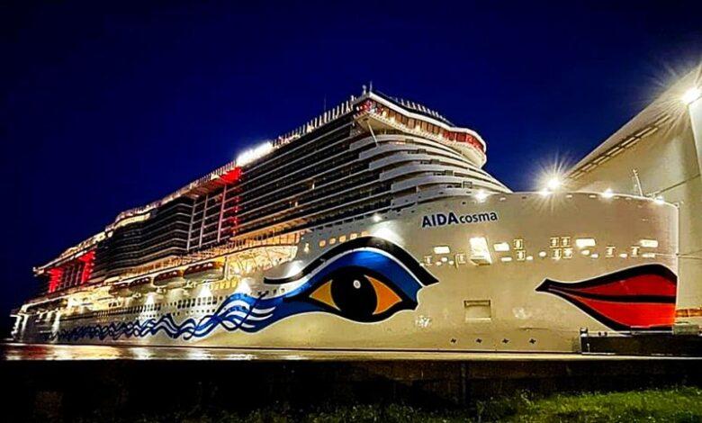 AIDAcosma αναχώρησε για το πρώτο της δοκιμαστικό, Αρχιπέλαγος, Ναυτιλιακή πύλη ενημέρωσης