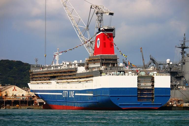 το Ferry Fukuoka της ιαπωνικής Meimon Taiyo Ferry 3, Αρχιπέλαγος, Ναυτιλιακή πύλη ενημέρωσης