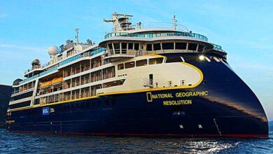 το National Geographic Resolution, Αρχιπέλαγος, Ναυτιλιακή πύλη ενημέρωσης
