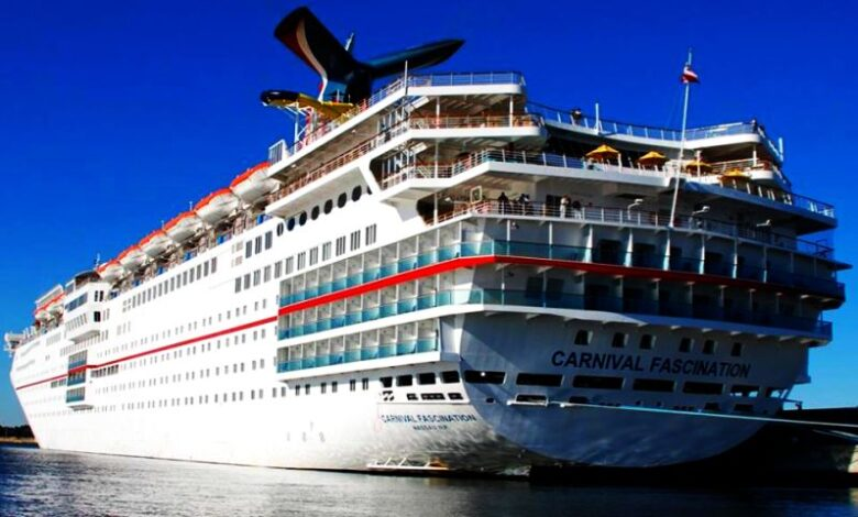 ταξίδι για το Carnival Fascination, Αρχιπέλαγος, Ναυτιλιακή πύλη ενημέρωσης